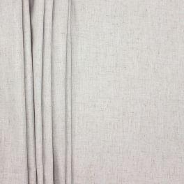 Meubelstof met linnen aspect - grijs