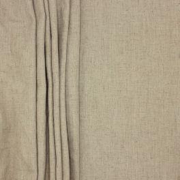 Meubelstof met linnen aspect - sepia