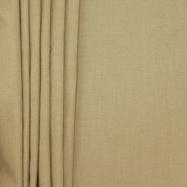 Upholstery fabric with linen aspect - coffee with milk