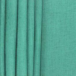 Meubelstof met linnen aspect - groen