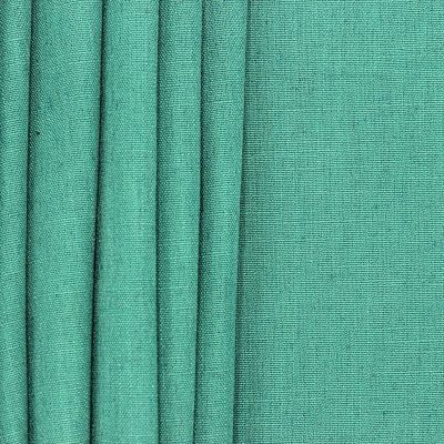 Upholstery fabric with linen aspect - green