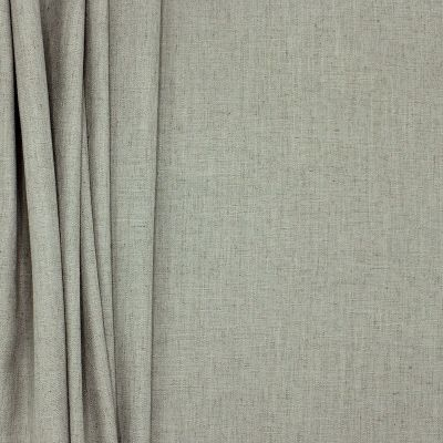 Meubelstof met linnen aspect - muisgrijs