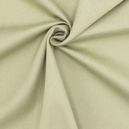 Tissu coton sergé - vert
