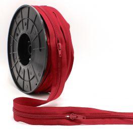 Zipper n°5 by meter - beaujolais