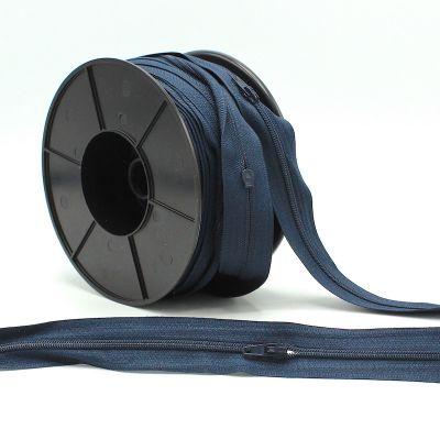 Zipper by meter - navy blue