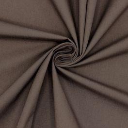 Popeline de coton- brun