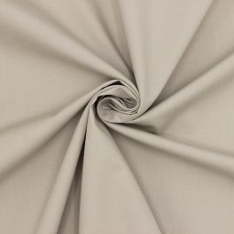 Popeline de coton- beige