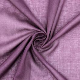 Veil of cotton - plum