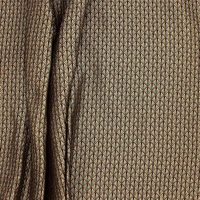 Tissu à motifs d'éventail - doré