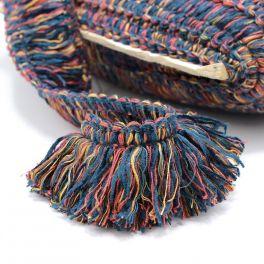 Frange viscose multicolore