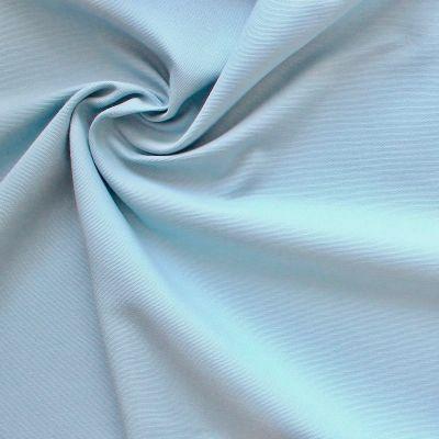 Katoen canvas - blauw