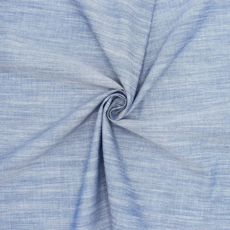 Cotton with flammed effect - blue