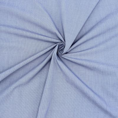 Jacquard fabric in cotton - blue