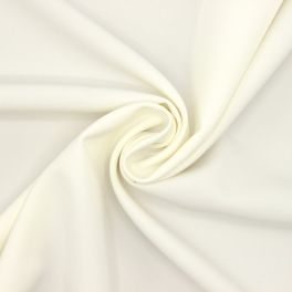 Extensible polyester fabric - off-white