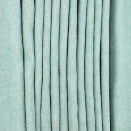 Tissu en 100% lin lavé uni vert sauge