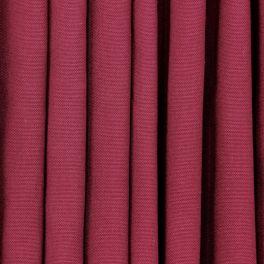 Tissu en coton uni bourgogne