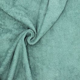 Hydrophilic terry cloth 100% cotton - jade green
