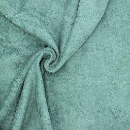 Tissu éponge hydrophile 100% coton jade