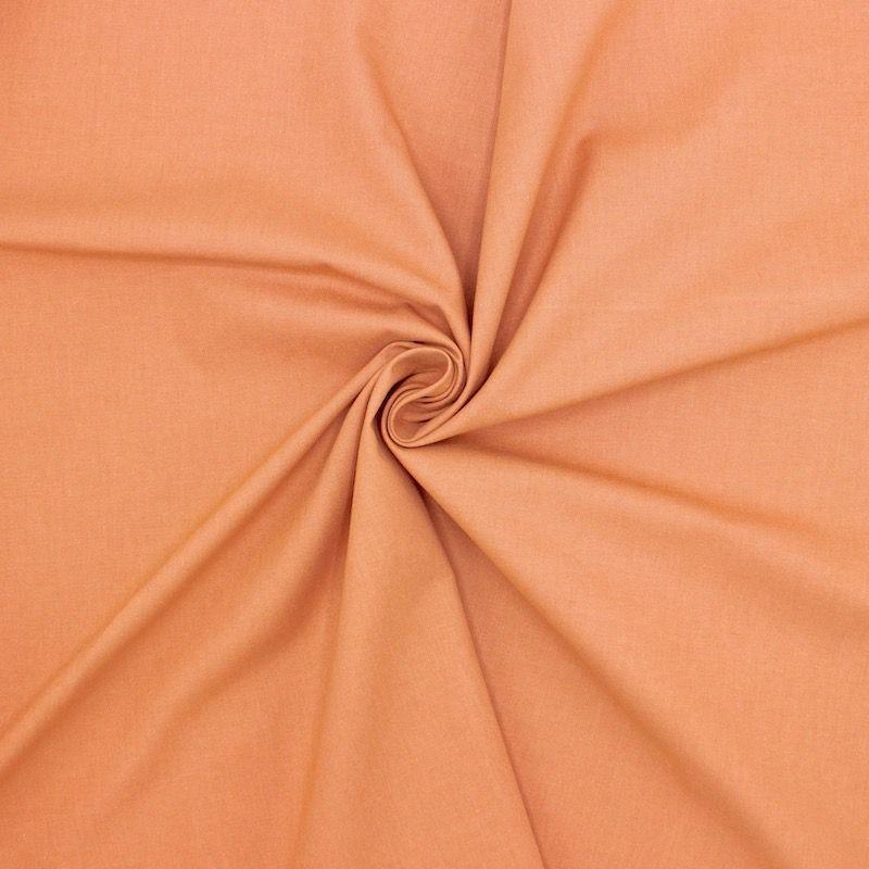 Cretonne fabric - plain color of brown sugar