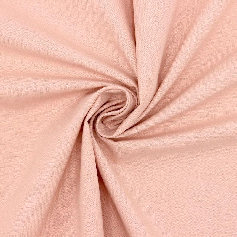 Tissu cretonne uni skin