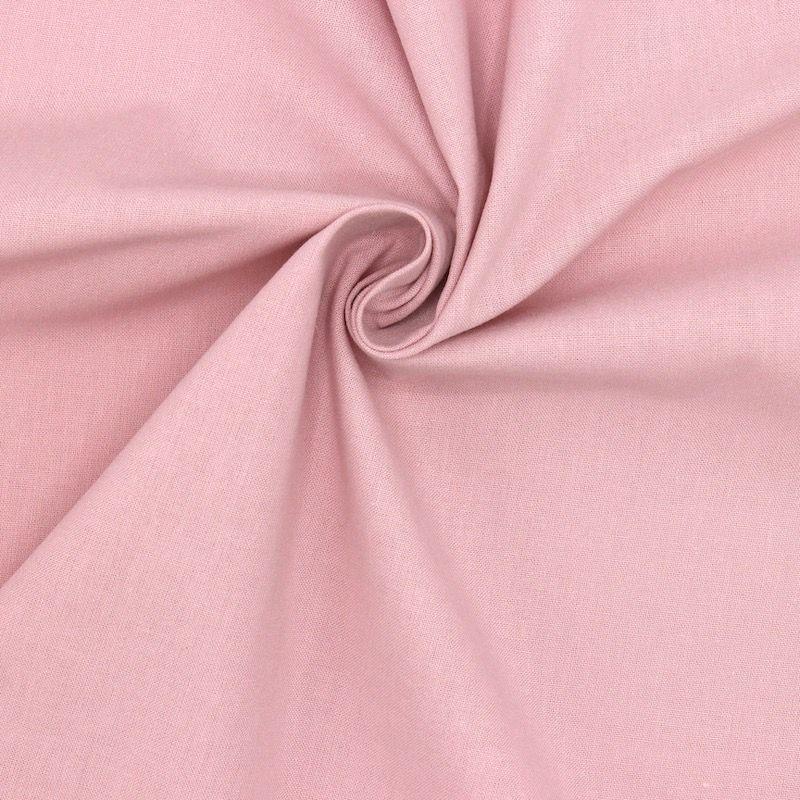 Tissu cretonne uni pétale