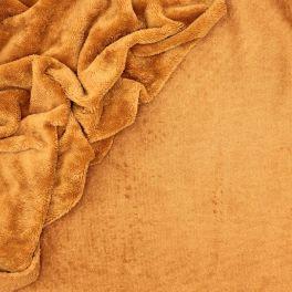 Tissu éponge bambou Camel