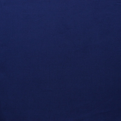 Tissu en coton uni bleu