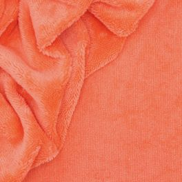 Bambou terry cloth - papaya