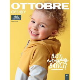 Sewing magazine Ottobre design Kids - spring 1/2021