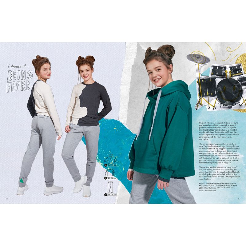 Sewing magazine Ottobre design Kids - spring 1/2021