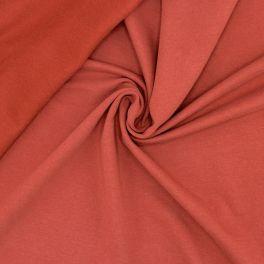 Duffled sweater fabric - terra