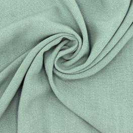 Tissu viscose et lin - vert sauge