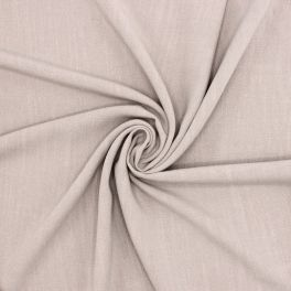 Fabric in viscose and linen - grey