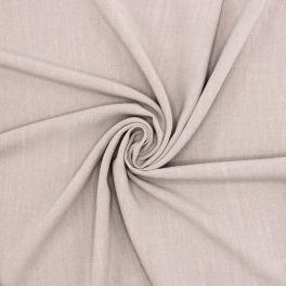 Tissu viscose et lin - gris