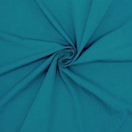 Gemerceriseerd popeline van katoen - eendblauw