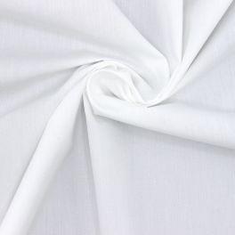 Gemerceriseerd popeline van katoen - optisch wit