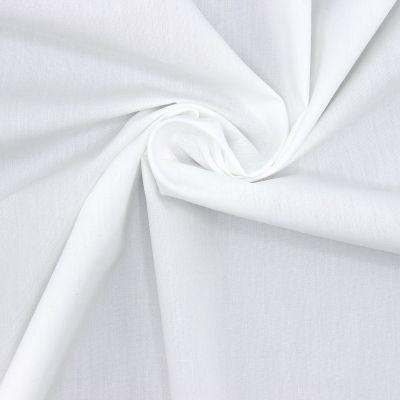 Popeline de coton mercerisé - blanc optique