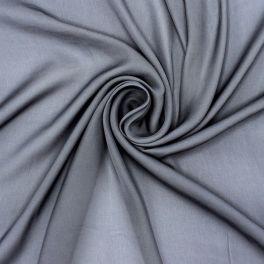 100% polyester aspect voorgewassen zijde - grijs