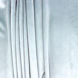 Tissu velours souple vert