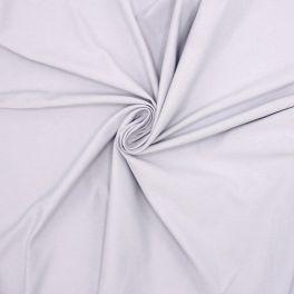 Jersey fabric - plain pearl grey