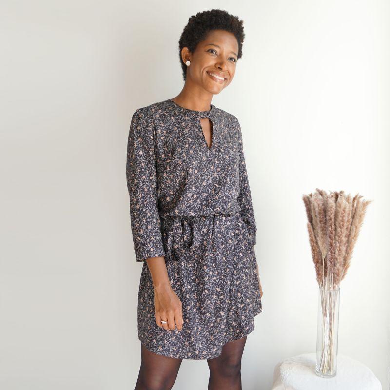 Patron femme  blouse ou robe Tiga