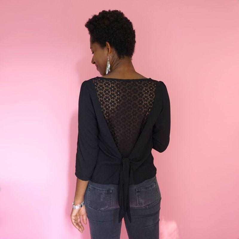 Woman's pattern blouse Lilith
