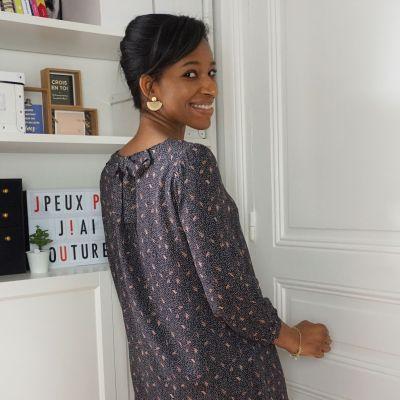 Patroon vrouwen bloes of jurk Elena
