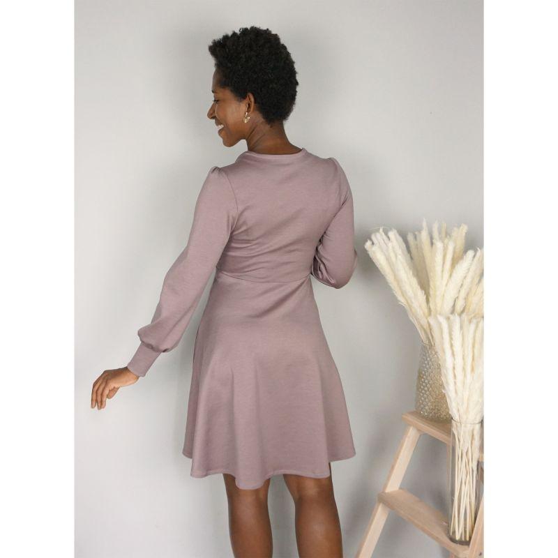 Woman's pattern dress Petra