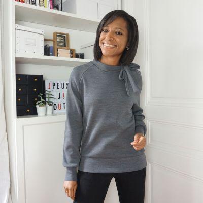 Woman's pattern Sweater Gaby