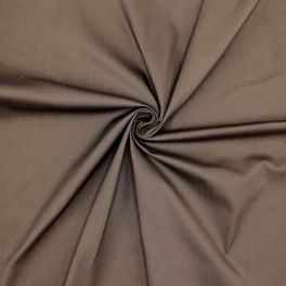 Extensible satin of cotton - brown