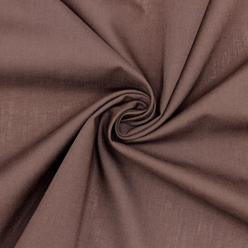 Tissu doublure poche - brun
