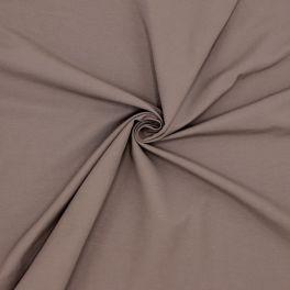 Plain cotton fabric - brown