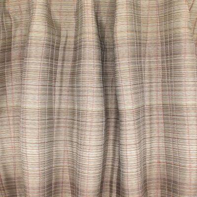 Double-sided jacquard veil - beige / rust