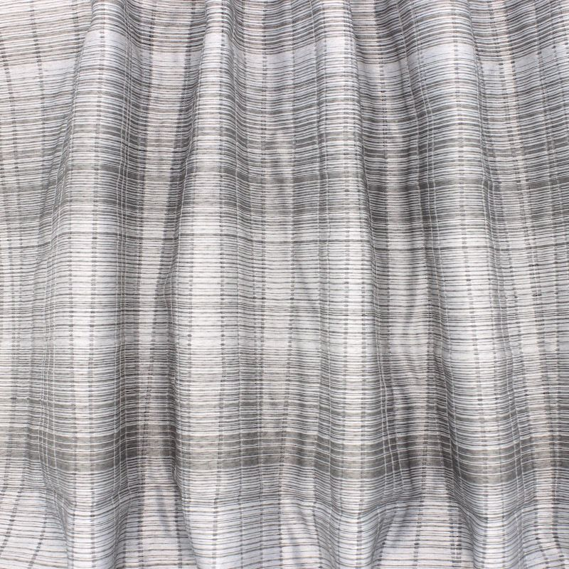 Tweezijdige jacquard sluier - grijs